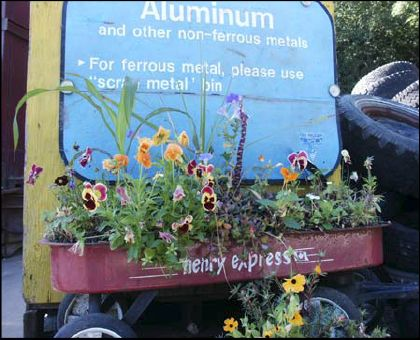 Recycling Depot Sign