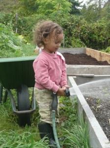 garden kid