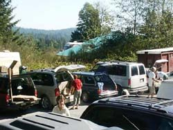 Recycling Center on Salt Spring Island