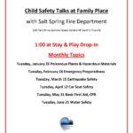 Child Safety Talks 2016 Jan-June