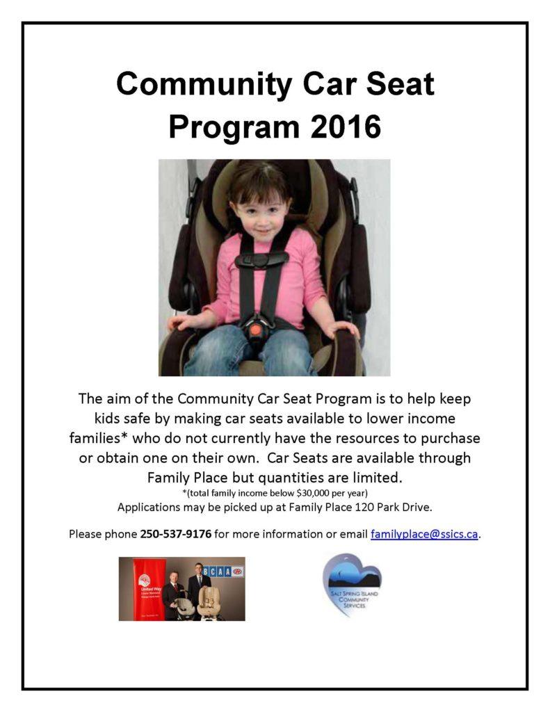 Community Child Car Seat Program