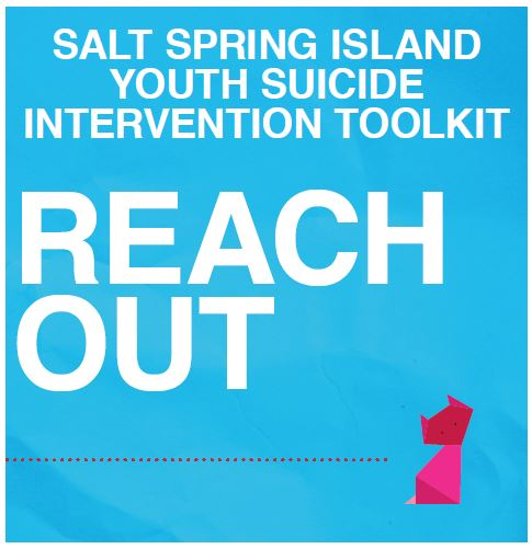 Salt Spring Island Youth Suicide Intervention Toolkit