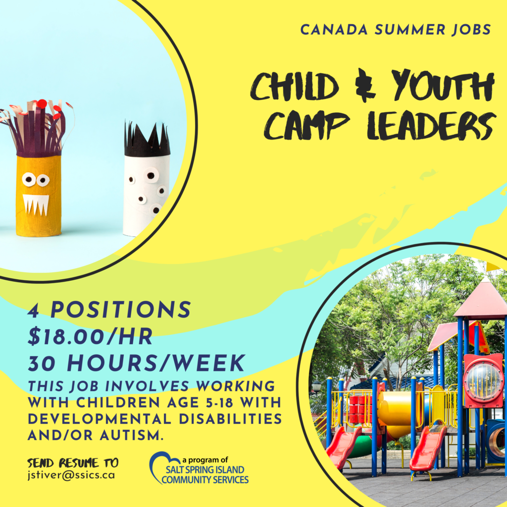 Child and Youth Camp Leaders Positions Available